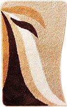 Badematte Norma, braun (Vorleger für Stand-WC 45/50 cm)