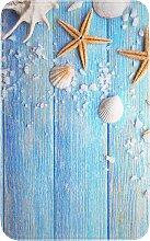 Badematte Palermo, Memory Schaum, blau (Vorleger