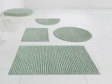 Badematte Renat, andas, Höhe 15 mm 12, grün