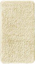 Badematte Rimini, beige (Vorleger für Stand-WC 45/50 cm)