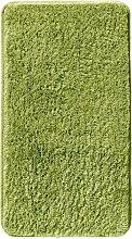 Badematte Rimini, grün (Vorleger Stand-WC, Badematte 50/90cm, WC-Deckelbezug))
