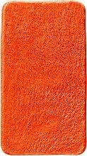 Badematte Rimini, orange (Vorleger für Stand-WC 45/50 cm)