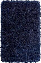 Badematte Rom, blau (Vorleger für Stand-WC 45/50