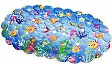 Badematte Rutschfest Ozean Shell Badezimmer