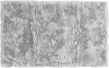 BADEMATTE Silberfarben 60/100 cm