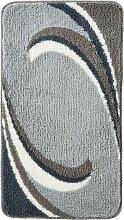 Badematte Simon, grau (Vorleger für Hänge-WC 45/50 cm)