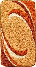 Badematte Simon, orange (Vorleger für Hänge-WC