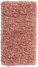Badematte Soft Fell, rosa (Vorleger für Hänge-WC