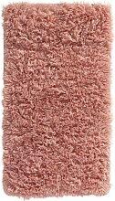 Badematte Soft Fell, rosa (Vorleger für Stand-WC