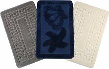Badematte sortierte Dekore Badmatte Wannenmatte Duschmatte Mikrofaser