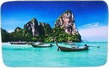 Badematte Thailand Sanilo, 50 x 80 cm, sehr weich,