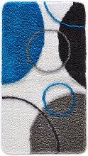 Badematte Till, blau (Vorleger für Stand-WC 45/50