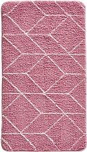 Badematte Tom, rosa (Vorleger für Hänge-WC 45/50