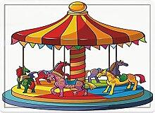 Badematte und Bodenmatte 50x80cm,Kinder, Cartoon
