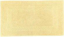 Badematte Valencia, 50x90cm (BxL), gelb