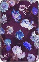 Badematte Viktoria, Memory Schaum, lila