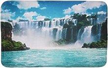 Badematte Wasserfall Sanilo, 70 x 110 cm, sehr