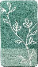 Badematte Zweige, grün (Vorleger für Hänge-WC 45/50 cm)