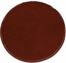 Badematten Set Clode® 40*28cm Soft Badschlafzimmer Fußboden Dusche Runde Mat Teppich Anti-Rutsch (Kaffee)