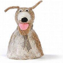Baden 1167093 Eierwärmer Motiv Hund aus Filz ,
