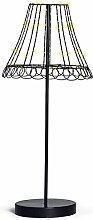 Baden 1177589, Lampe mit LED 66 cm, Glas, Schwarz, 70.5 x 40.5 x 63.5 cm