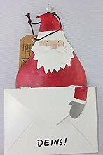 Baden - 1188318 - Weihnachtsmann mit Brief,
