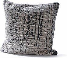 Baden 3060067 Kissen mit Füllung 60x60 cm Kissen, Woll-Mischgewebe, Grau, 60 x 60 cm