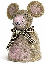 Baden dekorativer niedlicher Eierwärmer Maus mit