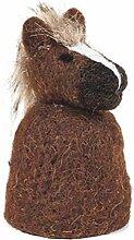 Baden dekorativer niedlicher Eierwärmer Pferd (1)