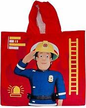 Badeponcho Feuerwehrmann Sam Herding Heimtextil