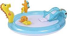 Badespaß Kinder Pool Planschbecken ca. 198cm x