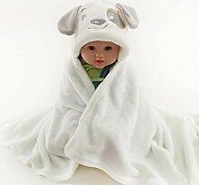 Badetuch Baby 100% Flansch Flaum Mit Kapuze Mantel