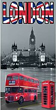 BADETUCH LONDON BUS ENGLISH