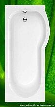 Badewanne 168x85 HOSKALIA R - Acryl DUSCHBADEWANNE