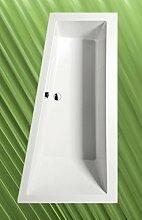 Badewanne ANDRA 170x90cm Ausführung Rechts mit