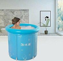 Badewanne Bathtub Aufblasbar 80x80cm Erwachsene