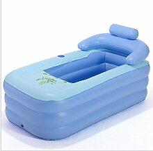 Badewanne Blaue PVC-Erwachsenen aufblasbare