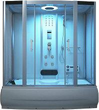 Badewanne mit Dusche Diamond BIG - weiß I
