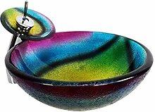 Badewanne - Sanitärkeramik Glaswaschbecken Art
