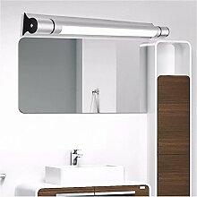 Badewanne Spiegel Lampen lisafeng Aluminium Spiegel vorne Licht ed Wasserdicht fogless Spiegel vorne Licht sanitär Badezimmer Waschtisch Licht ist weiß, 13 w / 80cm /