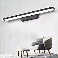 Badewanne Spiegel Lampen lisafeng led Gesundheit bad Creative Brief über Badezimmer spiegel Lampe, 80 cm/16 W/Aluminium ist weiß