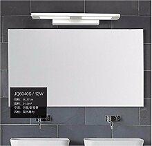 Badewanne Spiegel Lampen lisafeng Schlafzimmer Wand- wc Feuchtigkeit vor dem Spiegel Lampe ist einfach und stilvoll eingerichteten Zimmern Wandleuchten, quadratisch 37 cm 12 W Weiße LED