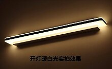 Badewanne Spiegel Lampen LisaFeng Spiegel Front-LED wasserdicht beschlagfrei Spiegelschrank Beleuchtung, 20 cm gelb