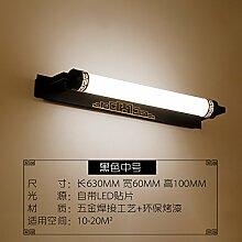 Badewanne Spiegel Lampen LisaFeng Spiegel vordere Lampe retro led Wandleuchte, ein 630*60*100 mm