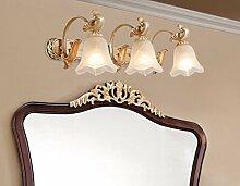 Badewanne Spiegel Lampen LisaFeng Spiegel vordere LED-Lampe, Badezimmer Spiegelschrank Beleuchtung, 60 CM