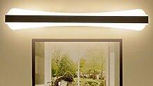 Badewanne Spiegel Lampen LisaFeng Spiegel vordere Scheinwerfer led wasserdicht beschlagfrei Spiegelschrank Lampen, weiß, 40 cm