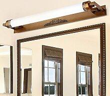 Badewanne Spiegel Lampen LisaFeng Spiegel vorne Licht LED-Spiegel Schaltschrankleuchten, 47cm warmes Lich