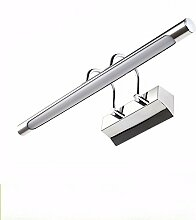 Badewanne Spiegel Lampen LisaFeng Spiegel vorne Licht wasserdicht led Acryl Edelstahl spiegel Lampe, 420 mm, warmes Lich