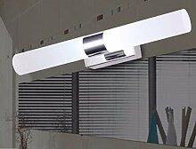 Badewanne Spiegel Lampen LisaFeng vor dem Spiegel Lampe LED Feuchtigkeit resistent Acryl wc Licht, 33cm - warmes Lich