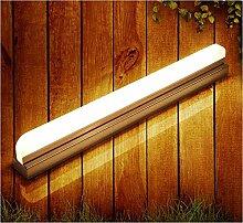 Badewanne Spiegel Lampen LisaFeng vor dem Spiegel Lampe minimalistischen LED Badezimmer Wand leuchten, dual Farbtemperatur, 62 CM